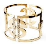 Bracciale in ottone con cristalli swarovsky acquista online