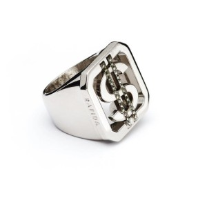 anello money in ottone color palladio in vendita online su rafida.it
